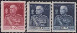 Italy     .     Yvert   .     175/1777   .  Perf. 13½      .   *     .   Neuf Avec Gomme   .   /   .    Mint-hinged - 1900-44 Vittorio Emanuele III