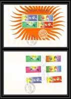 11465/ Espace (space) Lettre (cover) Fdc Année Internationale Du Soleil Calme Sun Togo 12/12/1964 - Lettres & Documents