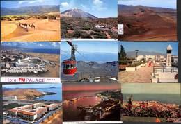 Lot 213 Cartes Tenerife Gran Canaria La Palma Lanzarote Fuerteventura Teide...see All Scans(less Than 0.05 Eur/card) - Espagne