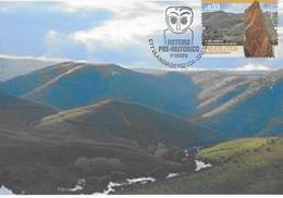 CARTE MAXIMUM - MAXICARD -MAXIMUM KARTEN - MAXIMUM CARD - PORTUGAL - ROUTE PORTUGAISE PRE-HISTORIQUE - FOZ CÔA - Archaeology