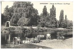 APPOIGNY - Bords De L'Yonne - La Plage - Appoigny