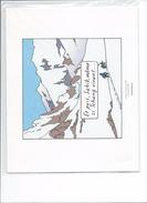 Tintin Au Tibet Planche 35 Strip 3 - Disegni Originali