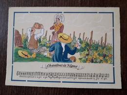 L22/1077 Chanson . Chantons La Vigne  Barré & Dayez - Music