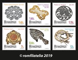 Romania 2019 / Plateaux/trivets 2 / Set 6 Stamps - 1948-.... Repúblicas