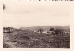 PHOTO ORIGINALE 39 / 45 WW2 WEHRMACHT FRANCE DOUAUMONT POSTE ALLEMAND VUE SUR LA MARNE - Guerra, Militares
