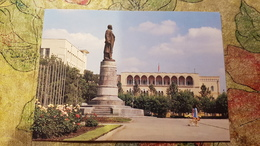 RUSSIA. Chechnya. Capital Groznyi. LENIN MONUMENT (destroyed Beg. Of 90th) - Tchétchénie