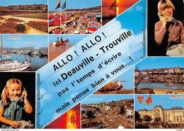 14-DEAUVILLE TROUVILLE-N°3732-C/0377 - Deauville