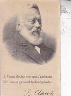 DIXMUDE DIKSMUIDE  BRUGES Pieter CLAUS Veuf VANDENBUSSCHE Catharine  Brugge 1812 - Dixmude 1892 DP Recto Verso - Décès