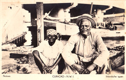 CURAÇAO - N. W. I. : NATIVES / INLANDSCHE TYPEN - CARTE VRAIE PHOTO / REAL PHOTO ~ 1930 (ad497) - Curaçao