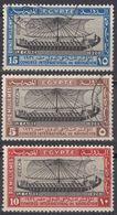 EGITTO - 1926 - Serie Completa Usata: Yvert 108/110, 3 Valori Complessivi, Di Cui Il 110 Di Seconda Scelta. - Used Stamps