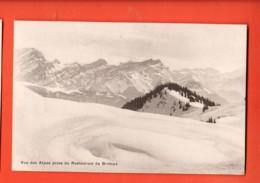 KAP-23 Vue Des Alpes En Hiver Prise Du Restaurant De Bretaye Sur Villars. Meister 159, Non Circulé - VD Vaud