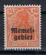 Memel Y/T 3 (*) - Unused Stamps