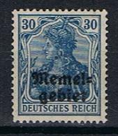 Memel Y/T 7 (*) - Unused Stamps