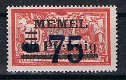 Memel Y/T 42 (*) - Unused Stamps