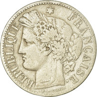 Monnaie, France, Cérès, 2 Francs, 1888, Paris, TB, Argent, Gadoury:530a - France