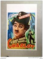 """CHARLIE CHAPLIN La Grande Parade De CHARLOT""""le Triomphe De Broadway"""" 1914/1915 Affiche Ancienne - Affiches & Posters"""