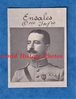 Photo Ancienne Style D'identité - Capitaine ENSALES - 150e Régiment Infanterie - Décoration - Médaille - Poilu WW1 - Guerra, Militari