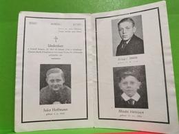 Doodebiller, Luxembourg WWII. Fonnef Jongen 1946 CLAUSEN, Durch D'explosio'n Vun Enger Granat - Cartes Postales