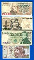 Pologne  7  Billets - Poland