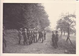 PHOTO ORIGINALE 39 / 45 WW2 WEHRMACHT FRANCE MEURTHE ET MOSELLE OFFICIERS ALLEMANDS - Guerre, Militaire