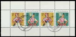 DDR HEFTCHENBLATT Nr HB13IA Zentrisch Gestempelt HB X985FA2 - [6] Repubblica Democratica