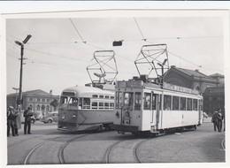 SNCB Charleroi Sud - Tramways Vicinaux - Emr.10402/10267 - Ligne 63/70- Petit Photo 8 X 5,5 Cm - Pas Carte Postale - Charleroi