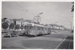TEPCE Charleroi Sud - Tramways Vicinaux - Emr.404 (2) - Petit Photo 8 X 5,5 Cm - Pas Carte Postale - Charleroi