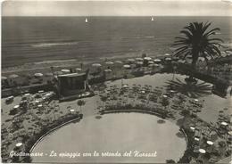 Y4772 Grottammare (Ascoli Piceno) - La Spiaggia Con La Rotonda Del Kursaal / Viaggiata - Italia