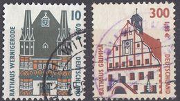 GERMANIA FEDERALE - 2000 - Lotto Di 2 Valori Usati: Yvert 1972 E 1974. - Usati