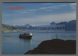 V9658 NORWAY MIDNATTSOL PASSERER POLARSIRKELEN NAVE SHIP VG ARCTIC CIRVLE MARK - Norvegia