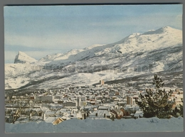 V9660 NORWAY VIEW OF THE TOWN TOWARDS THE FAGERNES MOUNTAIN VG - Norvegia