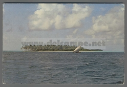 V9679 MALDIVES UNINHABITED ISLAND VG - Maldiven
