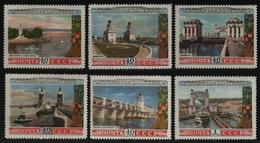 Russia / Sowjetunion 1953 - Mi-Nr. 1669-1674 ** - MNH - Wolga-Don Kanal (II) - Unused Stamps