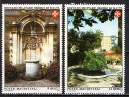 SMOM - 1991 - VILLA MAGISTRALE IN AVENTINO - MNH - Sovrano Militare Ordine Di Malta