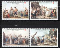 SMOM - 2006 - ANTICHI COSTUMI E TRADIZIONI - MNH - Sovrano Militare Ordine Di Malta
