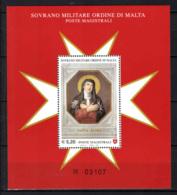 SMOM - 2007 - SANTA FLORA - FOGLIETTO - SOUVENIR SHEET - MNH - Sovrano Militare Ordine Di Malta