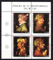 SMOM - 2008 - LE QUATTRO STAGIONI DI GIUSEPPE ARCIMBOLDI (1527-1593) - MNH - Sovrano Militare Ordine Di Malta