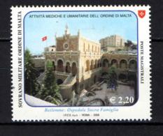 SMOM - 2008 - OSPEDALE SACRA FAMIGLIA DI BETLEMME - MNH - Sovrano Militare Ordine Di Malta