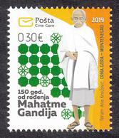 Montenegro 2019 150 Years Birth Of Mahatma Gandhi Famous People India MNH - Montenegro
