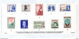 L4E097 CANADA Pochette Postale Annuelle - Estuches Postales/ Merchandising