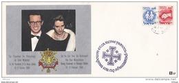 L4F094 ISRAEL Pèlerinage Roi Beaudoin Et Reine Fabiola  16-02-1964 - Israel