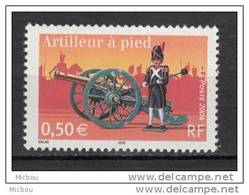France, MNH, 2004, Militaria, Canon, Cheval, Horse, Uniforme - Militaria