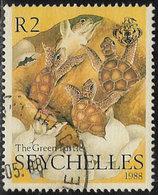 Seychelles SG688 1988 The Green Turtle 2r Good/fine Used [40/32934/1D] - Seychelles (1976-...)