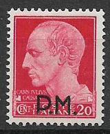 REGNO D'ITALIA POSTA MILITARE 1942 SERIE IMPERIALE SOPRASTAMPATI SASS. 4 MLH VF - 1900-44 Victor Emmanuel III