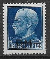 REGNO D'ITALIA POSTA MILITARE 1942 SERIE IMPERIALE SOPRASTAMPATI SASS. 9  MLH VF - 1900-44 Victor Emmanuel III