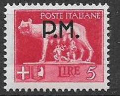 REGNO D'ITALIA POSTA MILITARE 1942 SERIE IMPERIALE SOPRASTAMPATI SASS. 12 MNH XF - 1900-44 Victor Emmanuel III