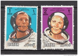 Qatar, Espace, Space, Astronaute, Apollo II, Lune, Moon, Armstrong, Aldrin, Astronaut - Spazio