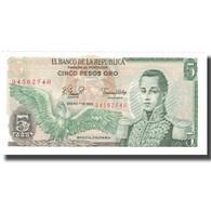 Billet, Colombie, 5 Pesos Oro, 1980, 1980-01-01, KM:406f, NEUF - Colombie