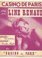 LOT 2 PARTITIONS LINE RENAUD CASINO DE PARIS 1959 ET SANTO DOMINGO 1960  2 SCANS - Partitions Musicales Anciennes