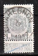 81  Armoiries - Bonne Valeur - Oblit. Centrale QUAREGNON  - LOOK!!!! - 1893-1907 Coat Of Arms